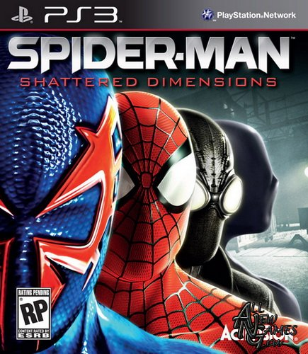 Spider-Man: Shattered Dimensions (2010/USA/ENG/PS3)
