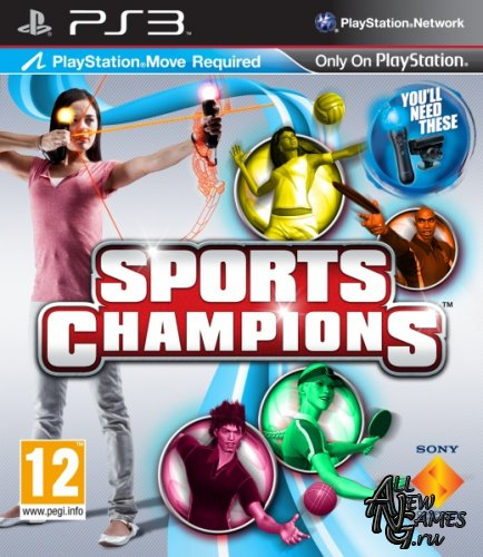 Sports Champions (2010/PS3/EUR/RUS/MULTI)