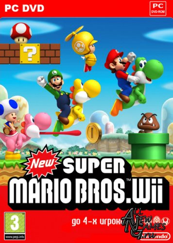 New Super Mario Bros (2010/RUS)