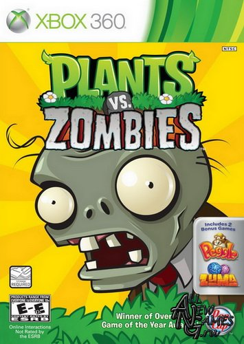 Plants Vs Zombies (2010/NTSC/U/ENG/XBOX360)