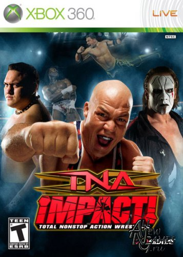 TNA Impact! Cross the Line (2010/ENG/XBOX360/PAL)