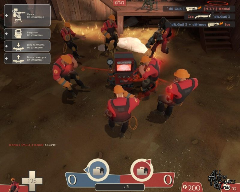 Название:Team Fortress 2 v.1.1.3.2 No-Steam + Patch Patch 1.1.2.0-1