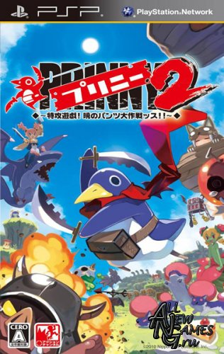 Prinny 2 Dawn of Operation Panties, Dood! (2011/ENG/PSP)
