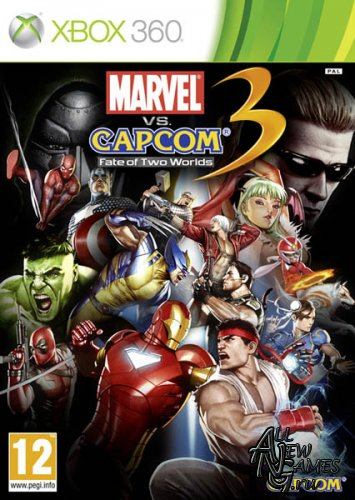 Marvel Vs. Capcom 3: Fate of Two Worlds (2011/ENG/XBOX360/RF)