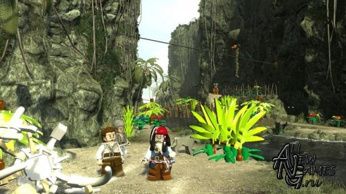 LEGO Pirates of the Carribean (2011/XBOX360/ENG)