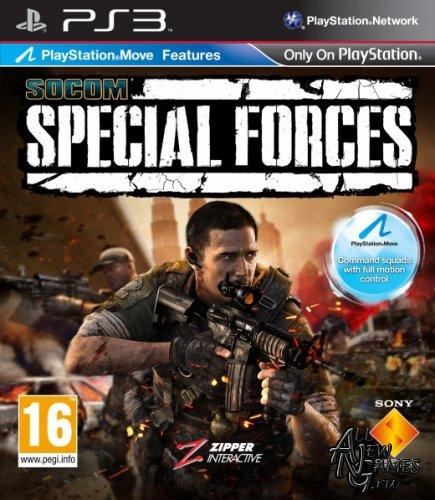 SOCOM: Special Forces (2011/PS3/EUR/ENG/RUS)