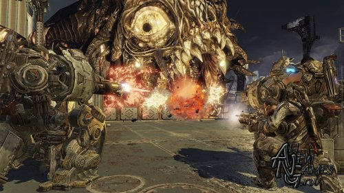 Gears of War 3 (2011/XBOX360/RF/RUS)
