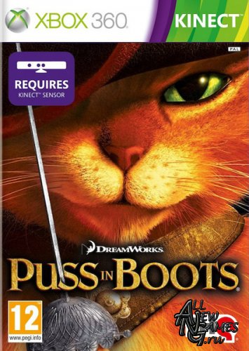 Puss in Boots: The Video Game (2011/ENG/XBOX360/RF)