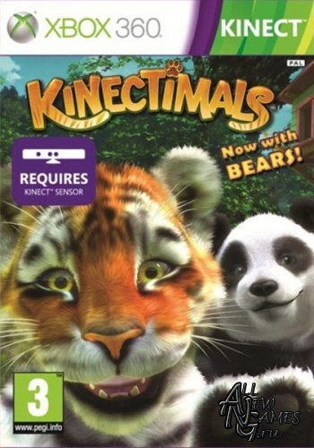 Kinectimals: Now with Bears! (2012/RUS/RF/XBox360)