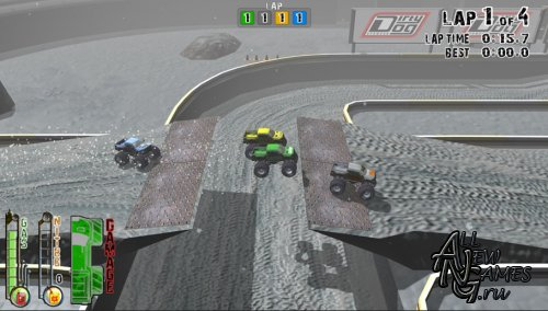 Monster Truck Racing - Extreme Offroad (2012/ENG/DEMO)