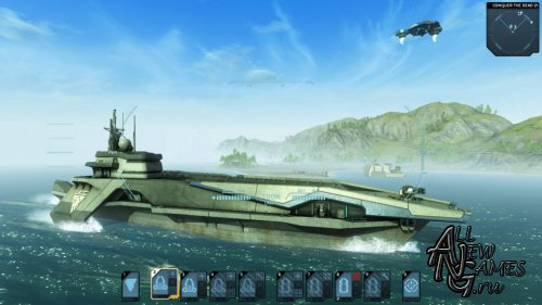 Carrier Command: Gaea Mission (2012/ENG/Full/Repack)