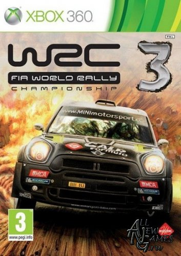 WRC 3 FIA World Rally Championship (2012/ENG/PAL/XBOX360)