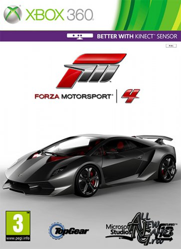 Forza Motorsport 4 Game of the Year Edition (2013/RUS/XBOX360/PAL/RUSSOUND)