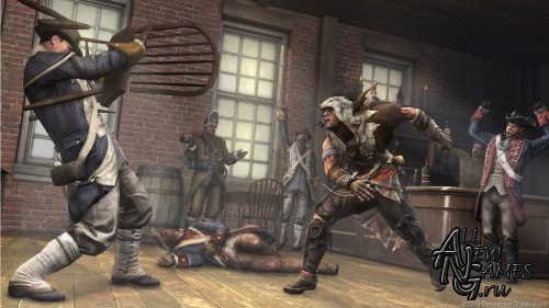 Assassin's Creed III. The Tyranny of King Washington. Episode 2: The Betrayal (2013/ENG/DLC)