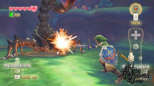 The Legend of Zelda: Skyward Sword (2011/Wii/PAL/RUS)