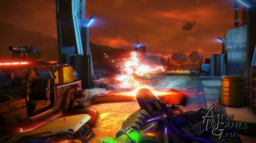 Far Cry 3. Blood Dragon (2013/RUS/ENG/MULTi8/Full/Repack)