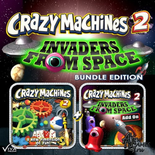 Crazy Machines 2: Invaders from Space (2013/ENG)