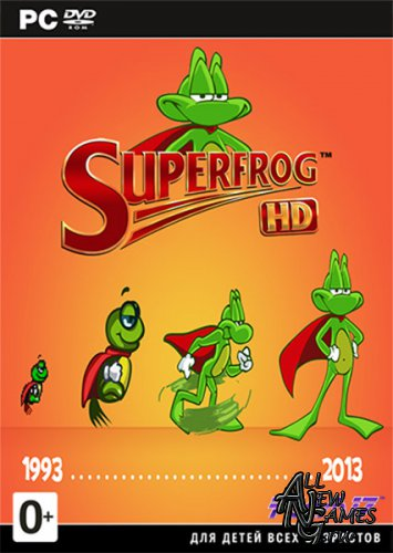 Superfrog HD (2013/ENG/MULTI5)