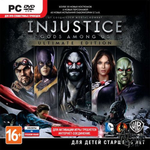 Injustice: Gods Among Us Ultimate Edition (2013/RUS/ENG/MULTI11/Repack)