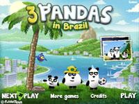 Панды в Бразилии / 3 Pandas in Brazil